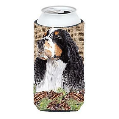 Carolines Treasures Springer Spaniel Tall Boy bottle sleeve Hugger 22 To 24 oz.