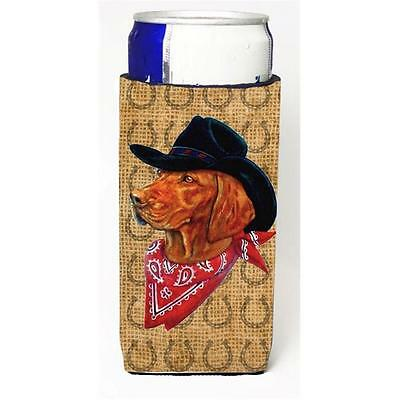 Vizsla Dog Country Lucky Horseshoe Michelob Ultra bottle sleeves For Slim Can...