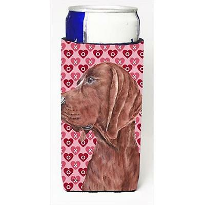 Redbone Coonhound Hearts And Love Michelob Ultra bottle sleeves Slim Cans 12 Oz.