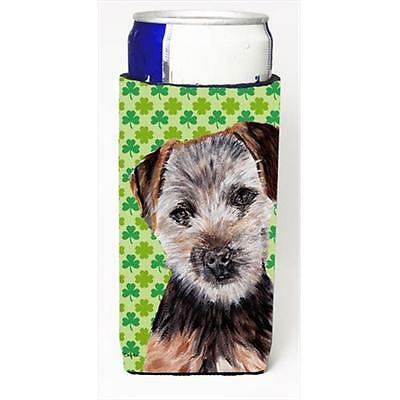 Norfolk Terrier Puppy Lucky Shamrock St. Patricks Day Michelob Ultra bottle s... • AUD 47.47
