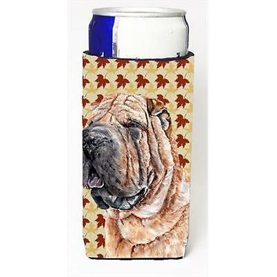 Shar Pei Fall Leaves Michelob Ultra bottle sleeves Slim Cans 12 Oz.