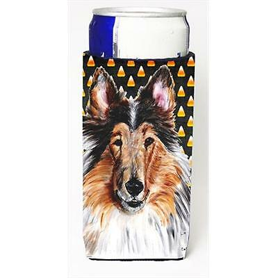 Collie Candy Corn Halloween Michelob Ultra bottle sleeves Slim Cans 12 Oz.
