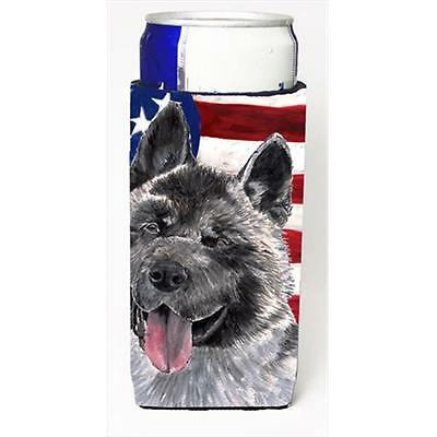 Akita USA Patriotic American Flag Michelob Ultra bottle sleeves For Slim Cans...