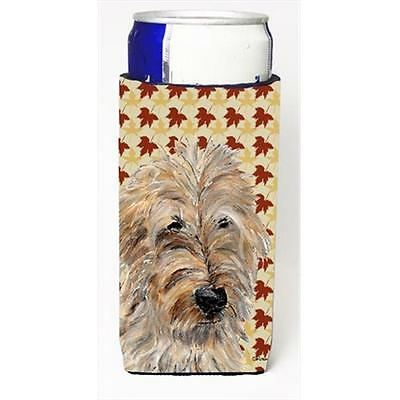 Golden Doodle 2 Fall Leaves Michelob Ultra bottle sleeves Slim Cans 12 Oz.