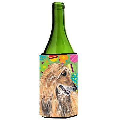 Afghan Hound Easter Eggtravaganza Wine bottle sleeve Hugger 24 Oz.