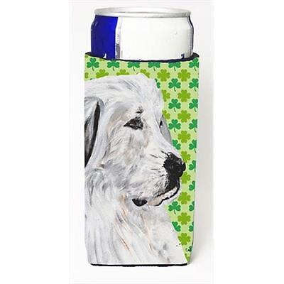 Great Pyrenees Lucky Shamrock St. Patricks Day Michelob Ultra bottle sleeves ...