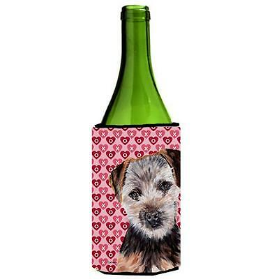Norfolk Terrier Puppy Hearts And Love Wine bottle sleeve Hugger 24 Oz. • AUD 48.26