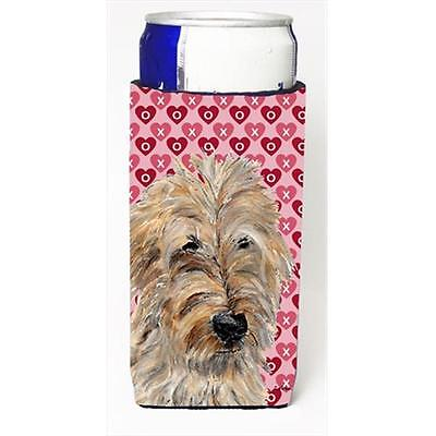 Golden Doodle 2 Hearts And Love Michelob Ultra bottle sleeves Slim Cans 12 Oz.