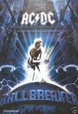 """J-1690 AC/DC BAND SINGER THE POSTER 24""""x36"""" MUSIC ROCK CONCERT NEW SIDE SHEET"""