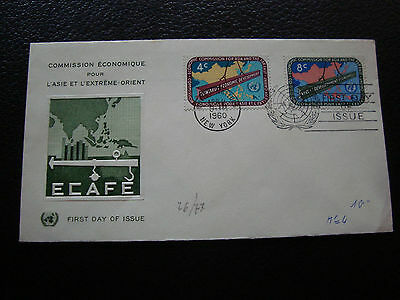 NATIONS-UNIES (new-york) - enveloppe 1er jour 1960  (cy71) united nations