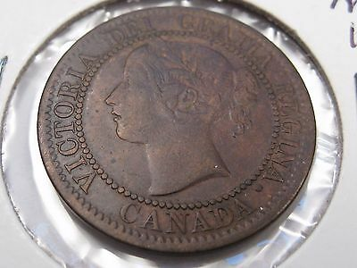 Better Grade 1859 Canadian Large Cent. Canada. #27