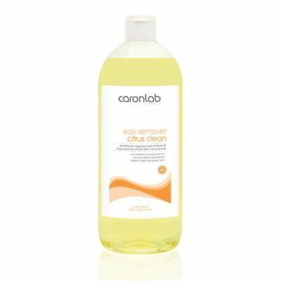 Caron Wax Remover Citrus Clean 1 Litre Waxing Cleaner Removal