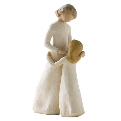 Willow Tree Mother & Daughter Figurine 26021 Mum Girl in Branded Gift Box