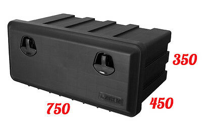DAKEN Just 750/350/450 TOOL BOX  / Truck Storage Box / Lorry / Bus Tool Case