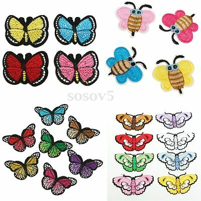 MARIPOSA Parches Pegatinas Tela Costura Bordado Ropa Bolsos Decoración Patch DIY