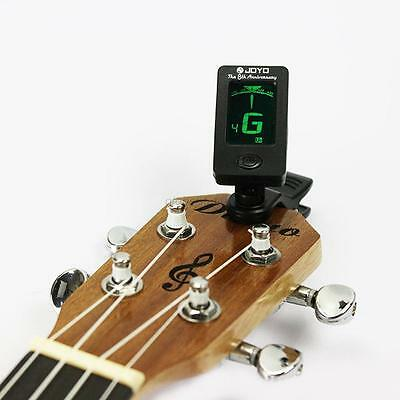 Acoustic Electric Clip-On Guitar Tuner Digital Chromatic Bass Violin Ukulele