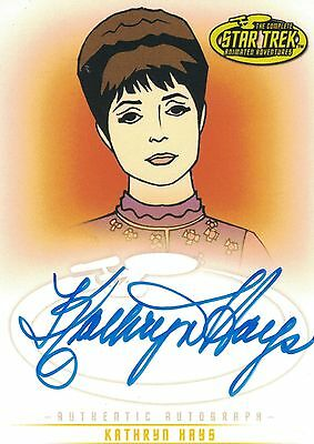 Star Trek TOS Art&Images: A36 Kathryn Hays autograph