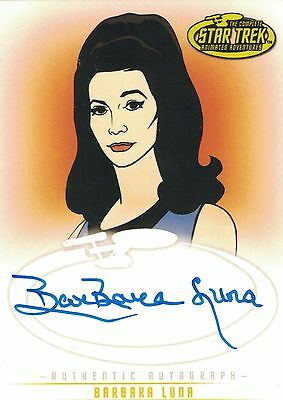 Star Trek TOS Art&Images: A19 Barbara Luna autograph