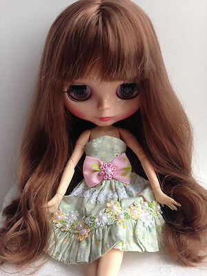 Takara 12'' Blythe Doll Neo Doll Brown Hair From Factory Blythe With Joint body