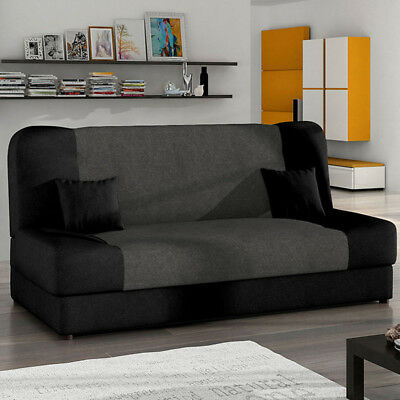 schlafcouch mit bettkasten eur 10 00 picclick de. Black Bedroom Furniture Sets. Home Design Ideas