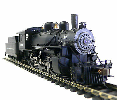 HO Scale Model Railroad Trains New York Central 2-6-0 DCC Sound Steam Locomotive