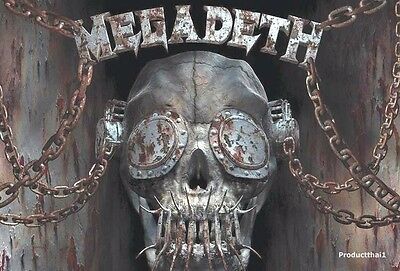 """MEGADETH BAND THE POSTER 24""""x36"""" MUSIC ROCK CONCERT NEW SIDE SHEET O-7048"""