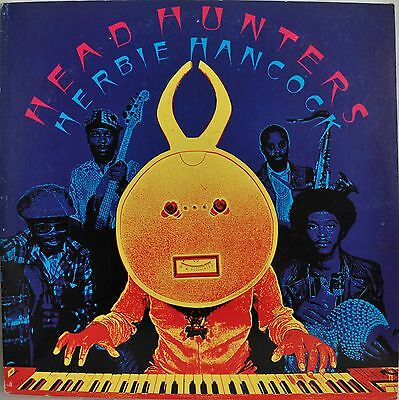 Herbie Hancock Headhunters Japan LP 1973 Sony 18AP 2179 Insert
