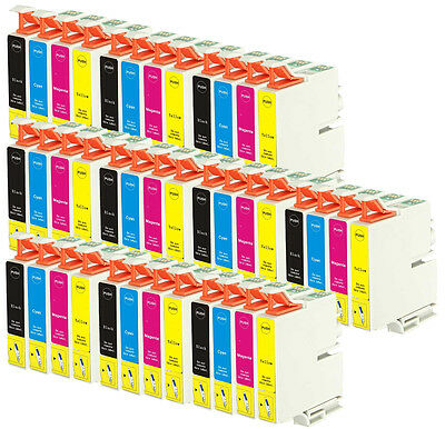 40 Ink Cartridges for Epson Printers - Stylus/ Workforce/ Expression Home Series