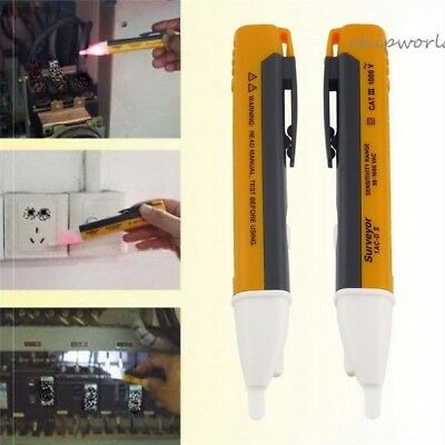 AC Non-Contact 90V to 1000V LED Light Electric Voltage Detector Tester Test Pen
