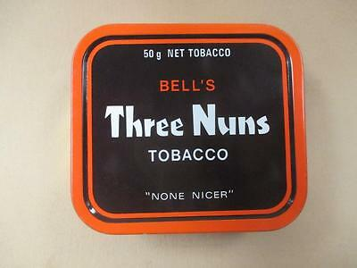 Tobacco tin, Three Nuns, rectangular, 50 grams, vintage