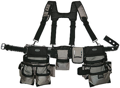 "Bucketboss Mullet Buster Rig Tool Belt fits waists up to 52"" 55135"
