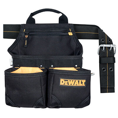 Dewalt 6 Pocket Framer's Nail and Tool Bag Pouch