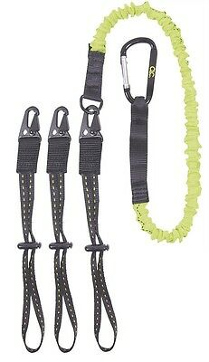 "Scaffolders Interchangeable End Tool Lanyard 36 - 56"" working at heights"