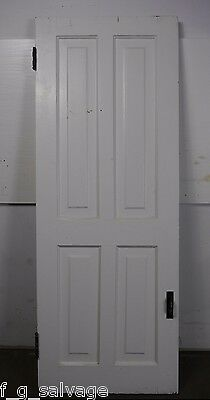 "Antique Vintage Cabinet Door with Hardware Late 1800's 53"" X 20"""