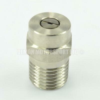Pressure Washer Jet Wash Stainless Steel Nozzles 1/4 Fan Angles 0° 15° 25° & 40°