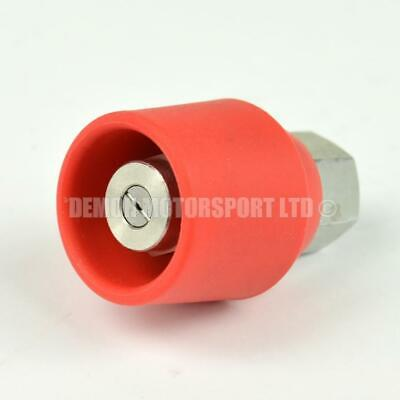 Pressure Washer Jet Wash Stainless Steel 1/4 BSP Nozzle & Protector (Pick Angle)