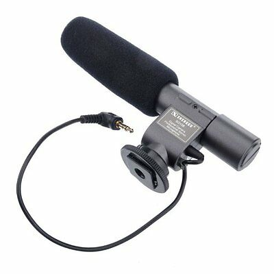 SG-108 Professional Stereo Video Shotgun MIC Microphone for New Camcorder MJ