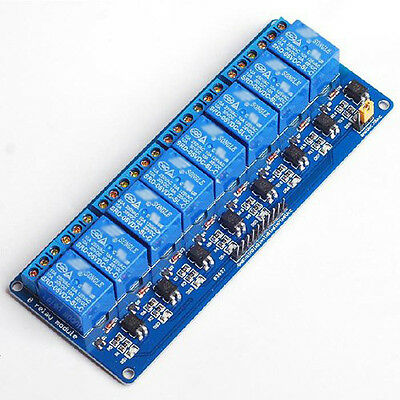 5V 8 Channel Relay Module Board for Arduino PIC AVR MCU DSP ARM Electronic MJ