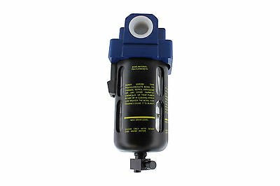 "Prevost TF 203 Compressed Air Inline Moisture/Water Filter Trap 1/2"" FNPT"