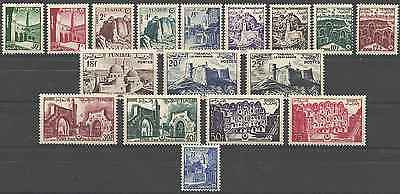 Timbres Tunisie 402/18 * lot 9814