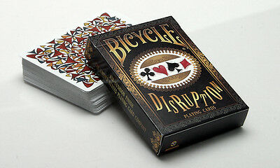 Disruption Bicycle Deck Of Playing Cards By Collectable & Uspcc Magic Tricks