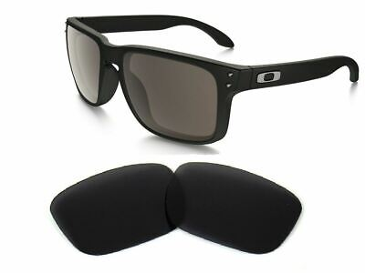 Galaxy Replacement Lenses For-Oakley Holbrook Black Color Polarized 100% UVA&B