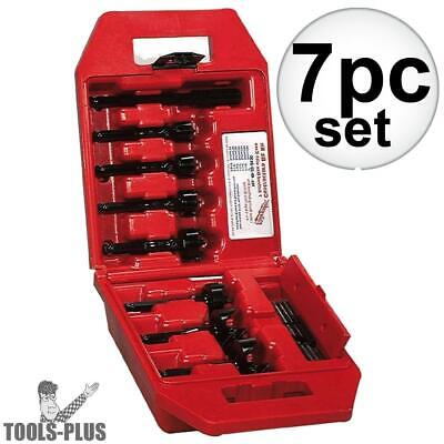 7 pc Contractor's Bit Kit Milwaukee 49-22-0130 New