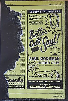 Breaking Bad - Better Call Saul Attorney At Law-Licensed POSTER-91cm x 61cm-Bran