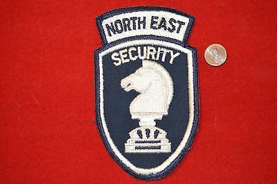Vintage Security Guard Embroidered Patch Made In USA