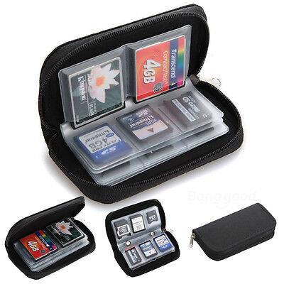 Memory Card Storage Wallet Case Bag Holder SD Micro 22 Slots Memory Card CASE