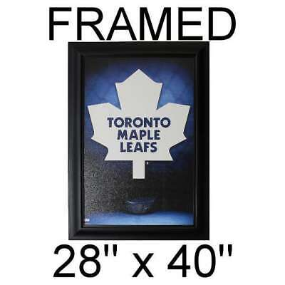 Poker Room art decor Framed Art  : Toronto Maple Leafs