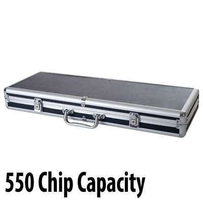550 capacity : Casino Poker Chip Aluminum Case