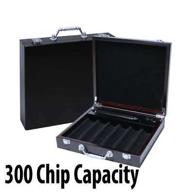 300 capacity : Casino Chip Mahogany Wooden Case