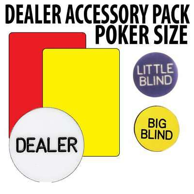 Poker Accessory pack : With Wide Size cut cards